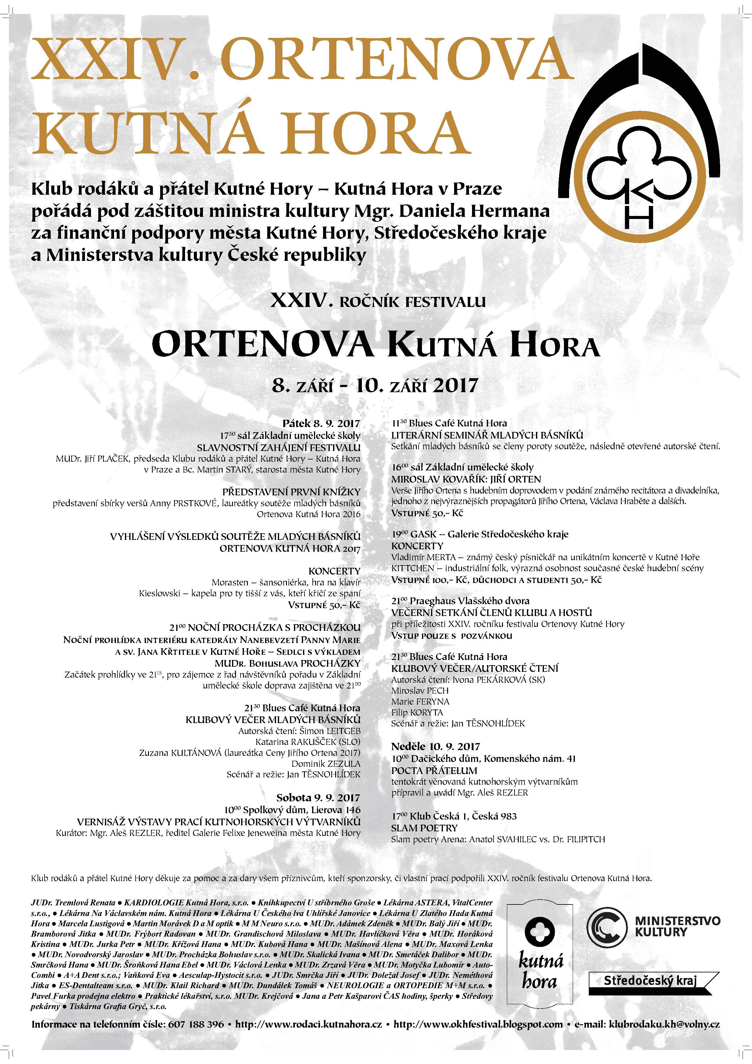 Veranstaltungskalender, Kutn Hora - mstsk informan portl