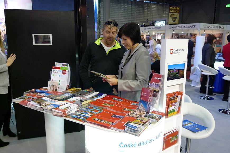 GO & REGIONTOUR 2017 (expozice CzechTourism-stánek UNESCO)