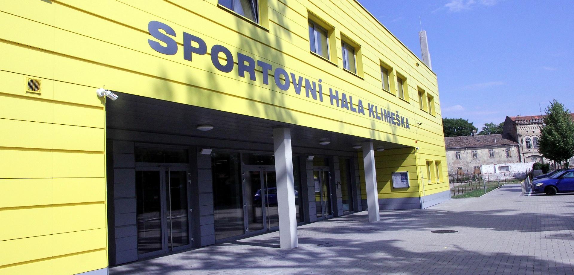 Sportovní hala Klimeška (1)