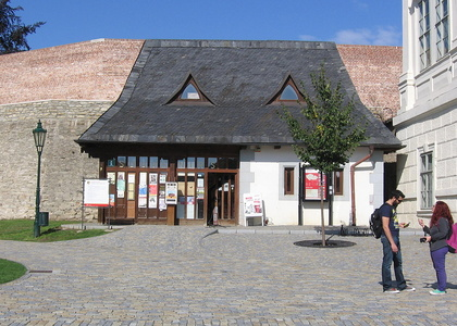 Tourist Information Centre by the Cathedral of St Barbara