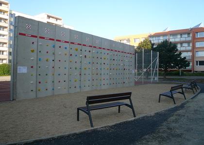 Dětské hřiště - Vostrov vnitroblok Opletalova ulice (4)