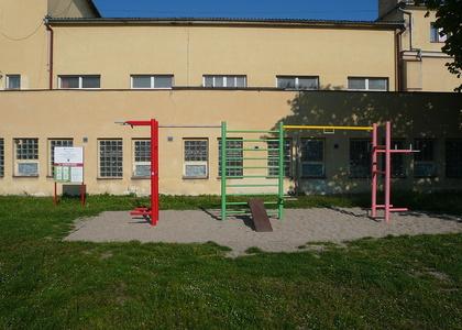 Venkovní posilovna v Sokolské ulici (2)