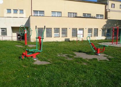 Venkovní posilovna v Sokolské ulici (4)