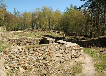 Zřícenina hradu Sion - Chlístovice