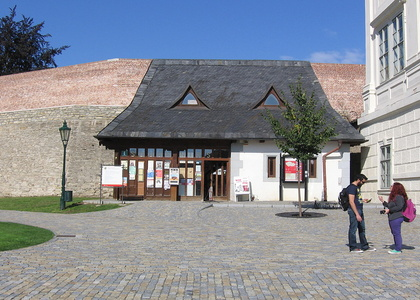 Informační centrum u chrámu sv. Barbory