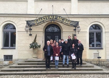 Chateau Mcely press trip