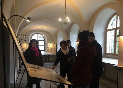 Kolín synagoga press trip