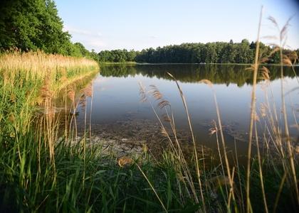 Jezero Katlov a rybník Pohan